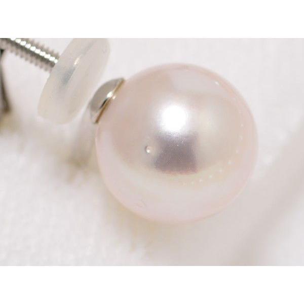 オーロラ花珠鑑別書つき あこや真珠ネックレス8.0mm〜8.5mm イヤリングまたはピアス2点セット|yokota-pearl|04