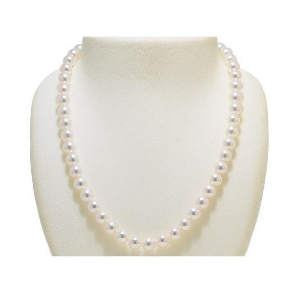 あこや真珠ネックレス8.0mm〜8.5mm 2点セット オーロラ天女鑑別書付き|yokota-pearl|02