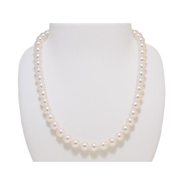 8.5mm〜9.0mm オーロラ花珠鑑別書つき あこや真珠ネックレス イヤリングまたはピアス 2点セット|yokota-pearl|02