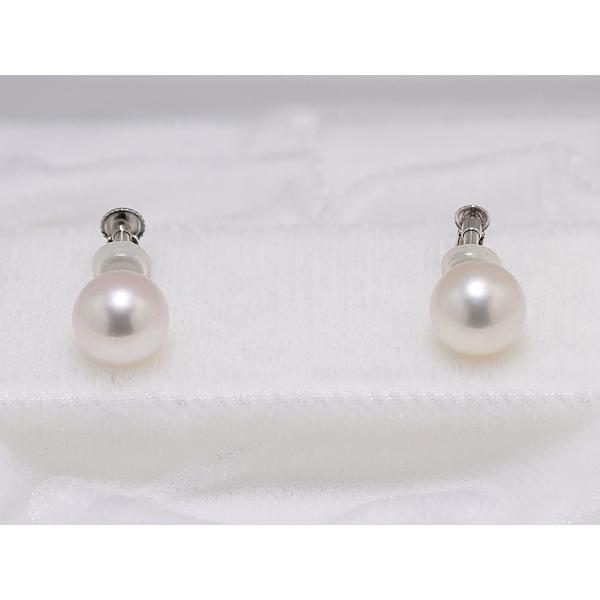 8.5mm〜9.0mm オーロラ花珠鑑別書つき あこや真珠ネックレス イヤリングまたはピアス 2点セット|yokota-pearl|03
