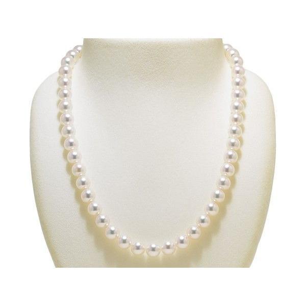 あこや真珠8.5mm〜9.0mmネックレス&8.6mmイヤリングまたはピアス2点セット オーロラ天女鑑別書付き|yokota-pearl|02