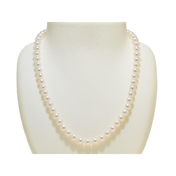 あこや真珠ネックレス オーロラ天女鑑別書つき 7.0mm〜7.5mm イヤリングまたはピアス7.8mm 2点セット|yokota-pearl|02