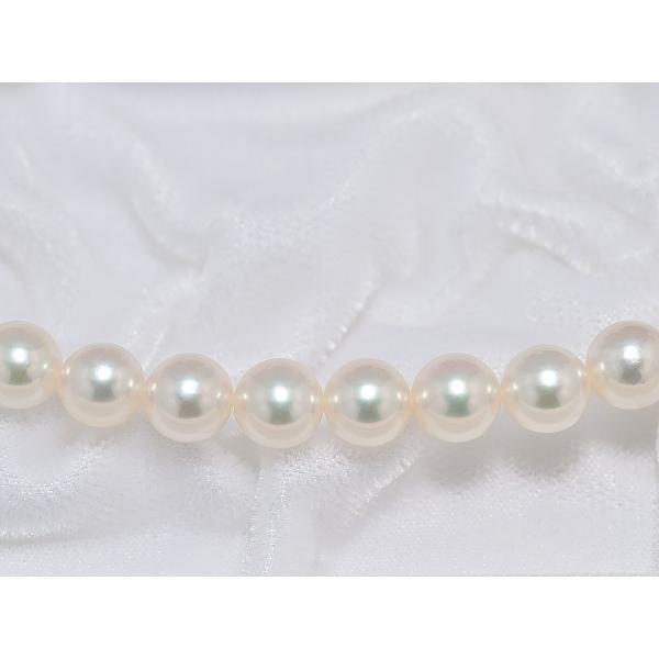 あこや真珠ネックレス オーロラ天女鑑別書つき 7.0mm〜7.5mm イヤリングまたはピアス7.8mm 2点セット|yokota-pearl|04
