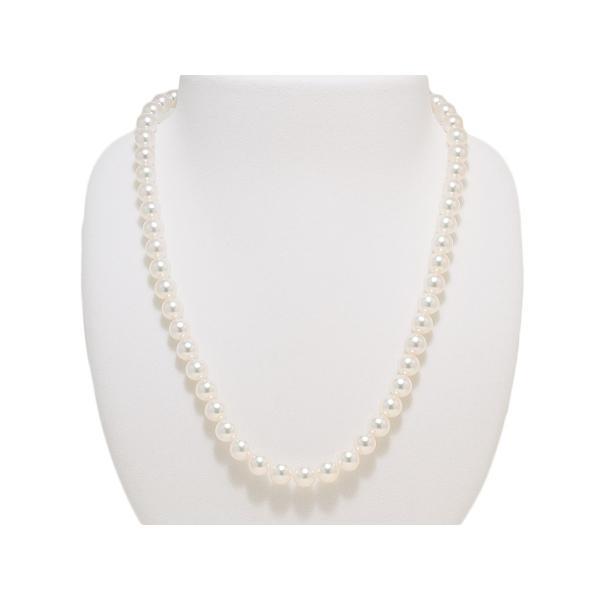 7.0mm〜7.5mm オーロラ花珠鑑別書つき あこや真珠ネックレス イヤリング または ピアス7.8mm 2点セット|yokota-pearl|02