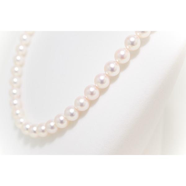 パールネックレス オーロラ花珠鑑別書つき あこや真珠ネックレス 8.5mm〜9.0mm イヤリングまたはピアス 2点セット|yokota-pearl|06