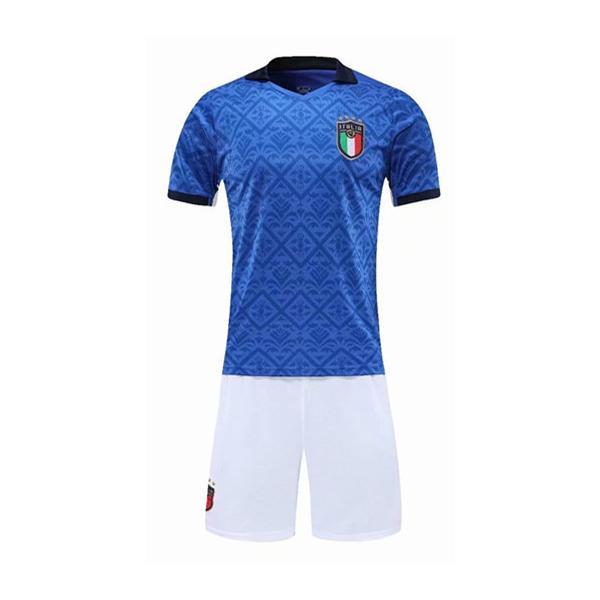 イタリア   2020/2021年   ホーム   上下着 大人用   半袖  レプリカサッカーユニフォーム|yokoyama-store