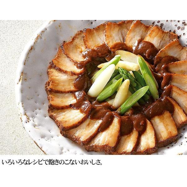 クリスマス ディナー オードブル 豚肉の味噌煮込み3本 セット お取り寄せグルメ おせち お正月 新年会 人気 2018 ご飯のお供 角煮 煮豚 詰め合わせ 豚肉 お肉|yonekyu|05