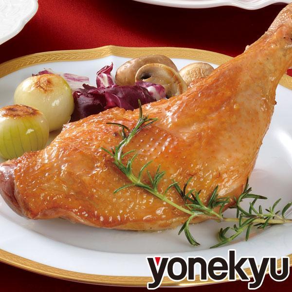<蔵出しセール>阿波尾鶏のローストチキン 1本 骨付きもも ローストレッグ 鶏肉 地鶏 バレンタインデー ディナー お取り寄せグルメ 人気 2020 ご飯のお供 お肉|yonekyu