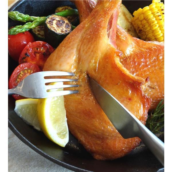 <蔵出しセール>阿波尾鶏のローストチキン 1本 骨付きもも ローストレッグ 鶏肉 地鶏 バレンタインデー ディナー お取り寄せグルメ 人気 2020 ご飯のお供 お肉|yonekyu|08