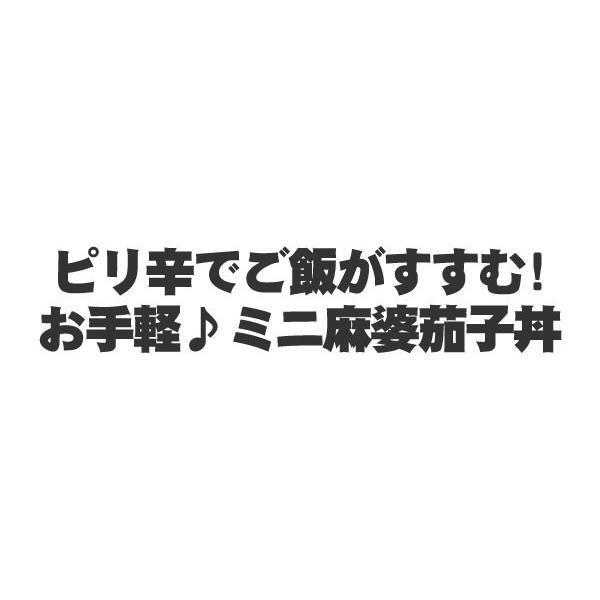 お取り寄せグルメ ミニ麻婆茄子丼の具 10食 セット 父の日 ディナー 人気 2019 ご飯のお供 中華 中華丼 麻婆ナス マーボー 温めるだけ まとめ買い 冷凍食品|yonekyu|02