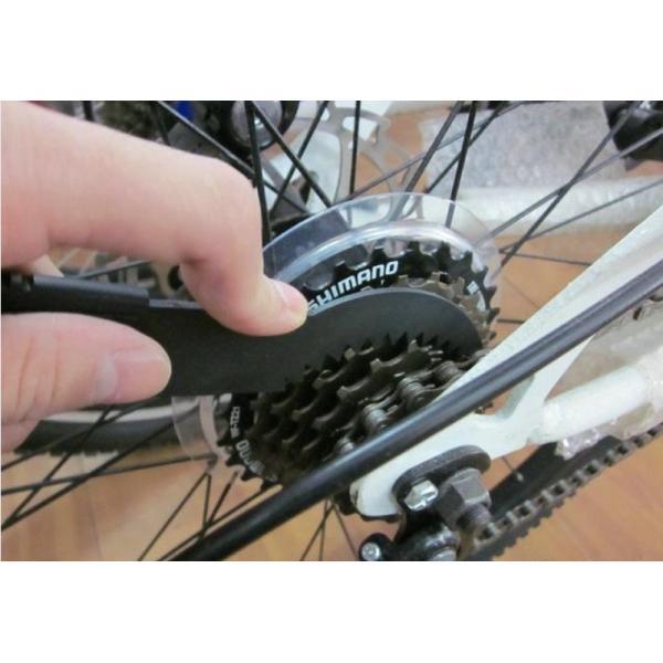 【ブラシ2本付きセット】自転車チェーンクリーナー  チェーンお掃除セット  洗浄 メンテナンス 簡単|yorokobiya|06