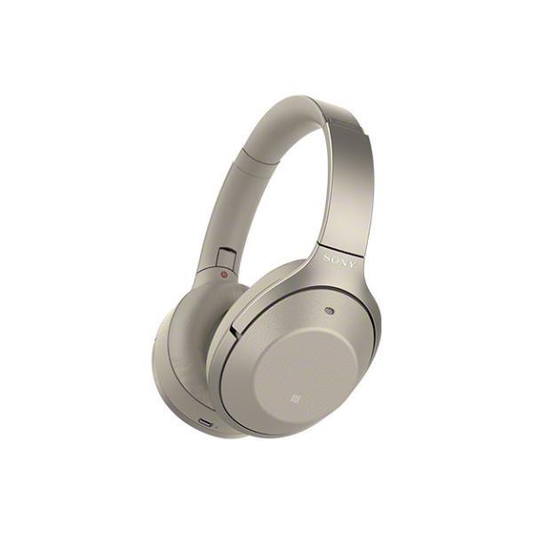 在庫限り  SONY ワイヤレスノイズキャンセリングステレオヘッドセット WH-1000XM2/N (シャンパンゴールド)
