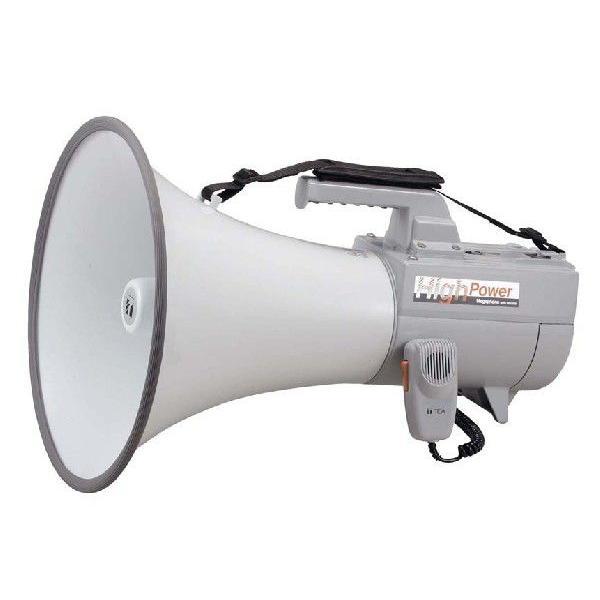 即納在庫ありTOA ショルダーメガホン(大型) ER-2130W (ホイッスル音付)