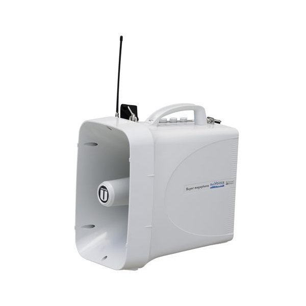 UNI-PEX 30W防滴スーパーワイヤレスメガホン TWB-300 ホイッスル付き