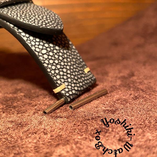 パネライチューブ腕時計用ベルト取り付け時に22mm,24mm,26mm