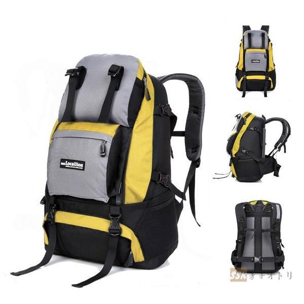 バックパック 登山 リュックサック 旅行 防災リュック 大容量リュック 40L 軽量 撥水 男女兼用 送料無料 アウトドア ハイキング|yoshikootory|05