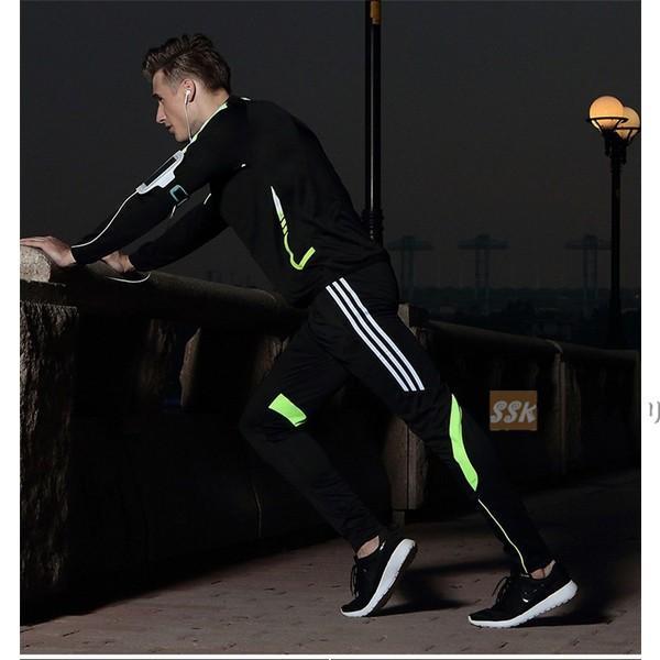 トレーニングウェア メンズ 上下セット 運動着 ランニング スポーツウェア ジャージ上下 吸汗速乾 長袖 2019 春服 yoshikootory 04