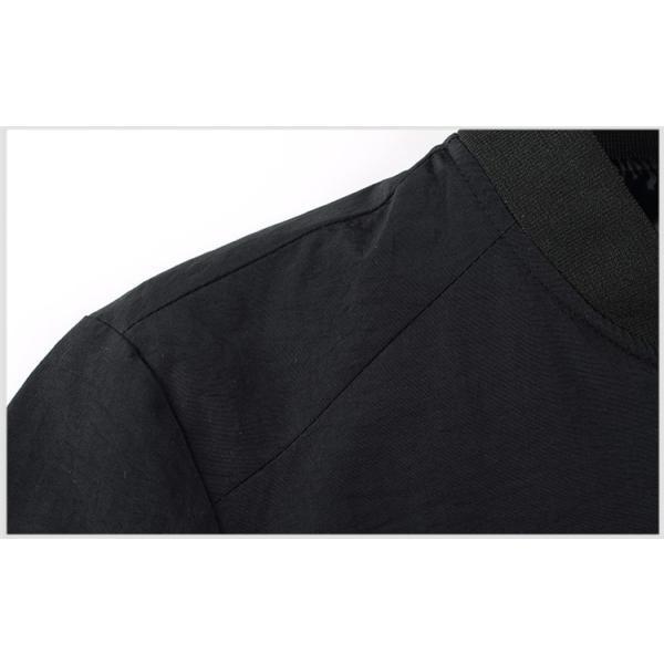 MA-1 メンズ ジャケット アウター ブルゾン フライトジャケット 40代 50代 ファッション ジャンパー オシャレ|yoshikootory|10