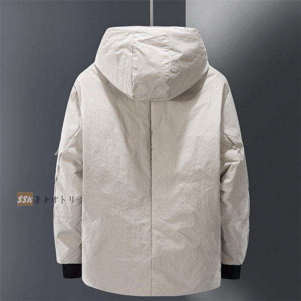 ダウンジャケット メンズ ブルゾン ジャケット アウター 暖かい 防寒 暖かい 防寒 アウトドア 冬服 ジップアップ|yoshikootory|07