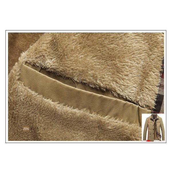 50代ファッション ミリタリージャケット ジャケット メンズ ブルゾン M65 防寒着 ボアジャケット アウター 厚手 冬服 秋冬|yoshikootory|12