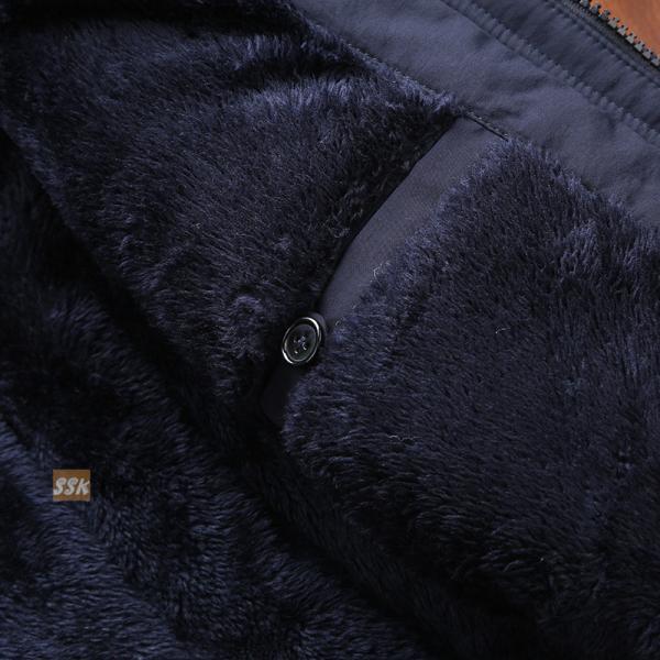 ミリタリージャケット メンズ 冬服 防寒アウター ボアジャケット 裏起毛 ジャケット 秋冬 アウトドア 防寒着|yoshikootory|12
