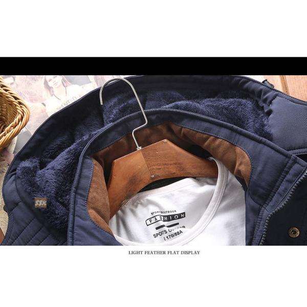 ミリタリージャケット メンズ 冬服 防寒アウター ボアジャケット 裏起毛 ジャケット 秋冬 アウトドア 防寒着|yoshikootory|13