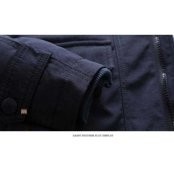 ミリタリージャケット メンズ 冬服 防寒アウター ボアジャケット 裏起毛 ジャケット 秋冬 アウトドア 防寒着|yoshikootory|15
