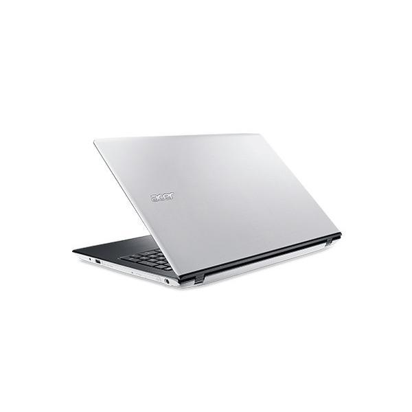 ACER E5-575-N78G/W ノートパソコン Aspire E 15 マーブルホワイト [15.6型 /intel Core i7 /HDD:1TB /メモリ:8GB /2017年6月モデル]の画像