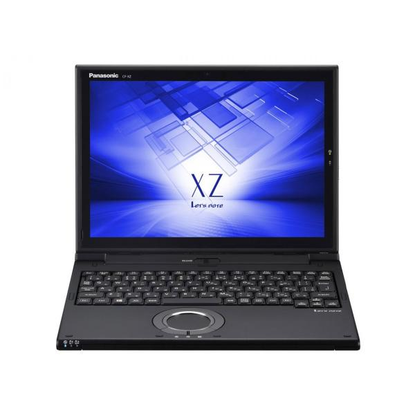 Panasonic CF-XZ6LFKQR ノートパソコン Let's note(レッツノート)XZシリーズ ブラック [12.0型 /intel Core i5 /SSD:256GB /メモリ:8GB /2018年2月モデル]の画像