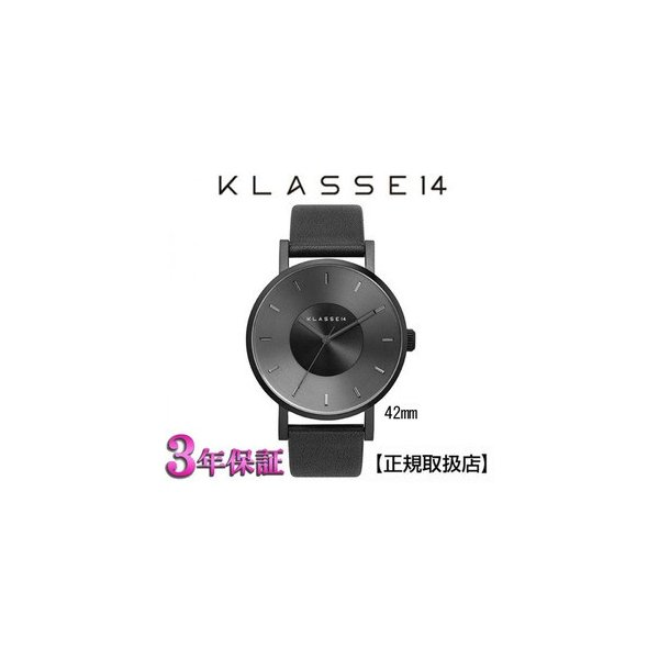 [クラス14] KLASSE14 腕時計 MARIO NOBILE VOLARE DARK VO14BK002M 42mm【正規輸入品】