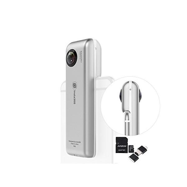 INSTA360 Nano 360°全天球パノラマ式カメラ 超HD3K|yot