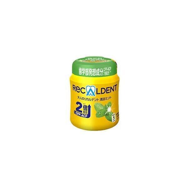 リカルデント 大人のリカルデント 清涼ミントボトルR(粒ガム) 140g×6個入 モンデリーズ・ジャパン