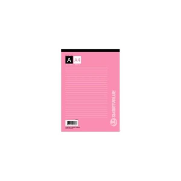 (まとめ)ジョインテックス レポート用紙5冊パック A4A罫 P007J-5P〔×10セット〕
