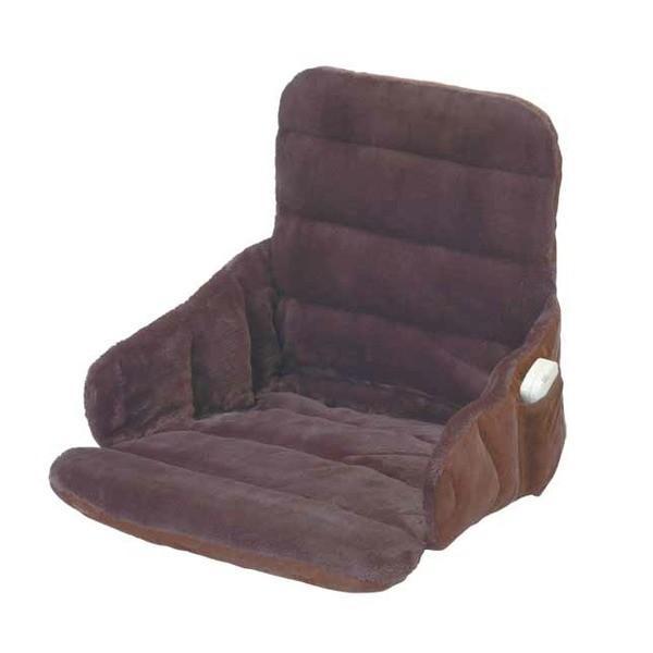 ソファー・椅子用 ヒーター/ホットマット 〔幅37cm〕 洗えるカバー 電磁波カット機能 『腰すっぽりヒーター』