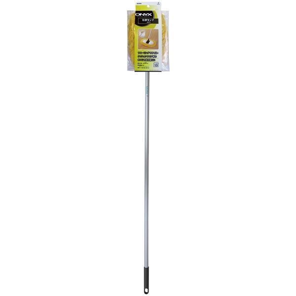 化学モップ/掃除用具 〔外して洗えるモップ〕 拭き幅:37cm 『オキニス』 〔大掃除 店舗 家庭〕