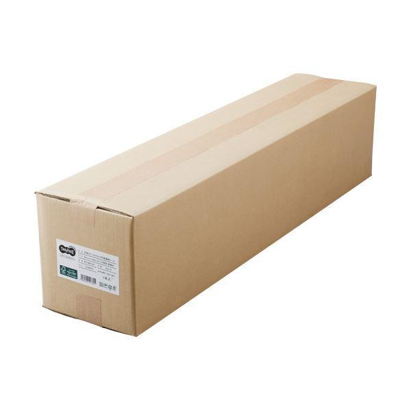 (まとめ)TANOSEEPPC・LEDプロッタ用普通紙 A0ロール 841mm×200m 3インチ紙管 素巻き 1本〔×3セット〕