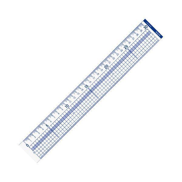 (まとめ) コクヨ カッター定規 30cmCL-RC30 1個 〔×10セット〕