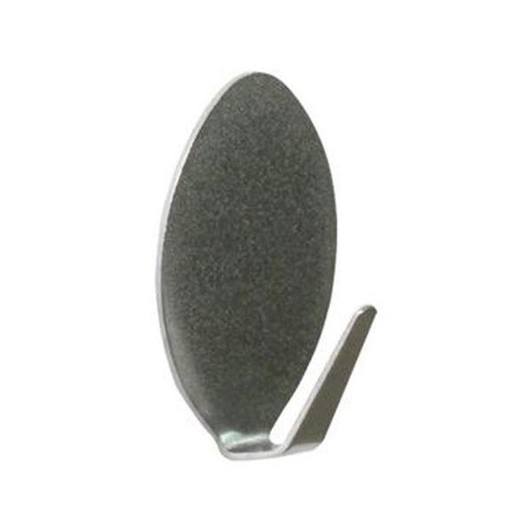 (まとめ)ミツヤ 強接着フック ステンレス耐荷重5kg KSH-5-SUS 1パック(3個)〔×20セット〕