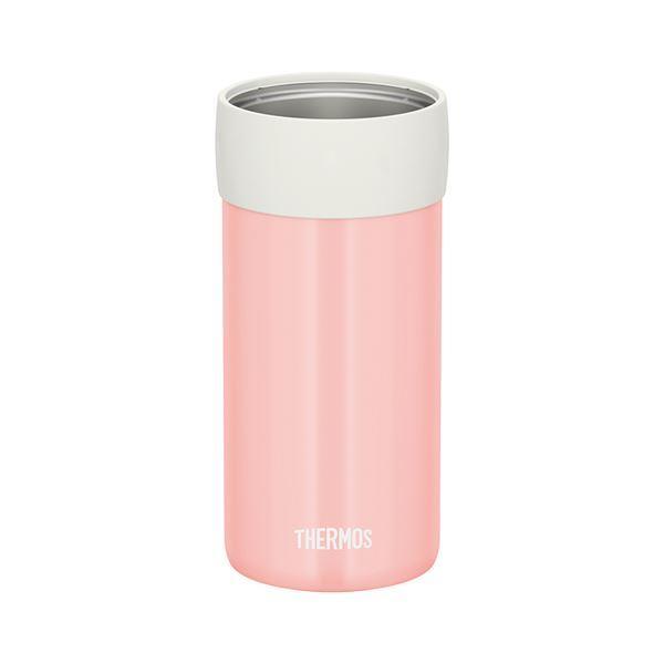 サーモス 保冷缶ホルダー 〔500ml缶用 コーラルピンク〕 JCB-500