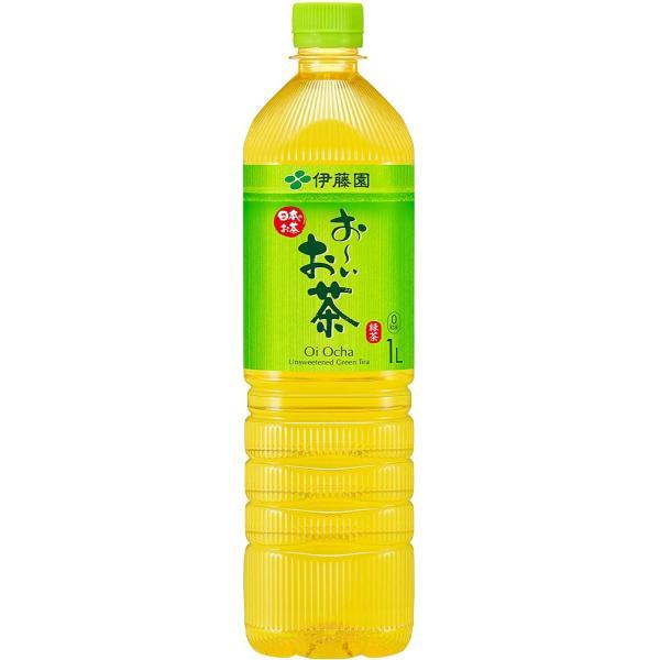伊藤園 お〜いお茶 緑茶 1L×12本