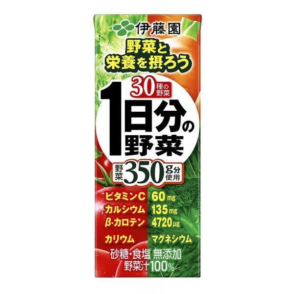 伊藤園 1日分の野菜 200ml×24本×2ケース(48本)