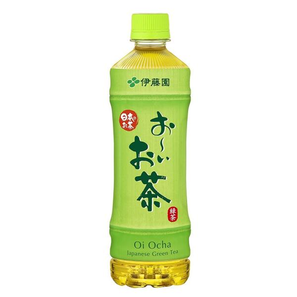 伊藤園 お〜いお茶 緑茶 525ml×24本×2ケース