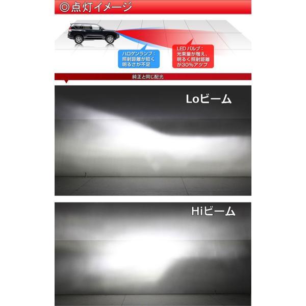 ダイハツ ハイゼット トラック H26.9〜H29.10 S500P・S510P ロービーム ヘッドライト H4 Hi/Lo ハイパワーLED 6000K DC 12v専用[1年保証][YOUCM]|youcm|04