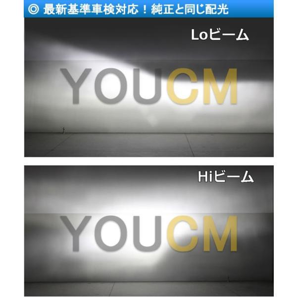 [車検対応]ZESチップ LEDヘッドライト H4 Hi/Lo オールインワン一体型 6000LmX2 細い発光 角度調整機能 DC 12v/24v [YOUCM][2年保証] youcm 07