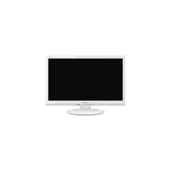 【代引不可】シャープ 液晶テレビ AQUOS 2T-C19AD-W [19インチ ホワイト系]