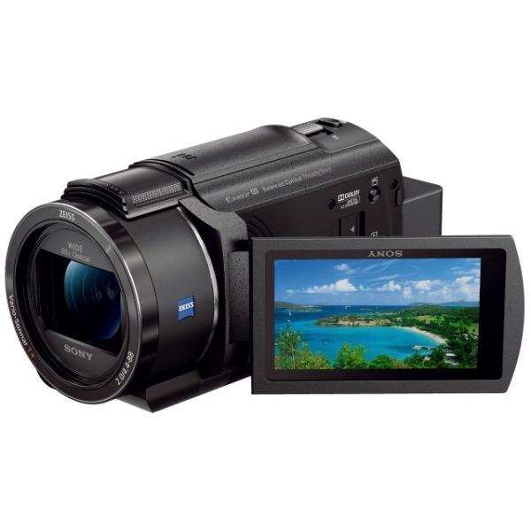 SONY ビデオカメラ FDR-AX45 (B) [ブラック]