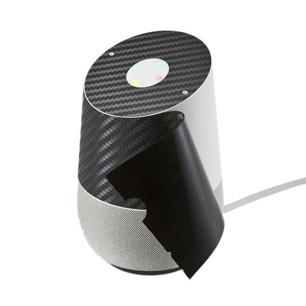 サンワサプライ Google Homeスキンシール(カーボン調) LCD-GH3