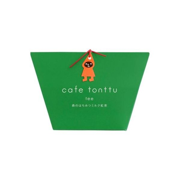 カフェトントゥ ティー 森のはちみつミルク紅茶 2g×5包入 12セット(代引き不可)(同梱不可)