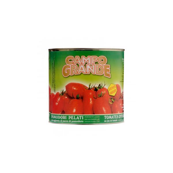 カンポグランデ ポモドーリ ペラーティ ホールトマト 2500g 6個セット 10(代引き不可)(同梱不可)