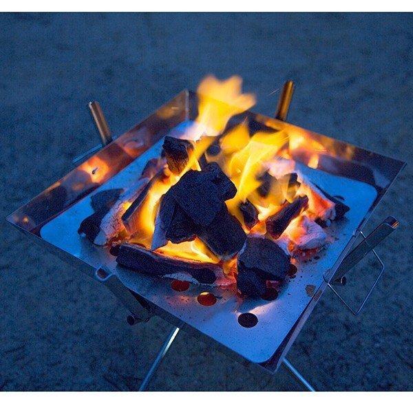 バーベキュー コンロ  焼き網3枚付き グリル ポータブル BBQ ファイアグリル 焚火台 キャンプ用品 (送料無料)   yct youplus-corp 05